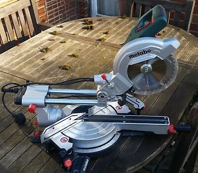 Metabo KGS216M sliding mitre saw