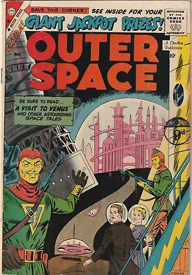 Outer Space  Number 22  Charlton Comics 1959. Sci-Fi.