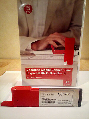 UMTS Mobile Connect Card Express MCC Ex.HSUPA Broadb.7.2 Option GE0301 Vodafone