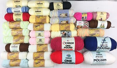 Carron Yarn *Large Lot of Mixed Skeins*