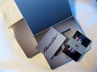2001 Porsche Boxster 80 Pages Flip Brochure Book