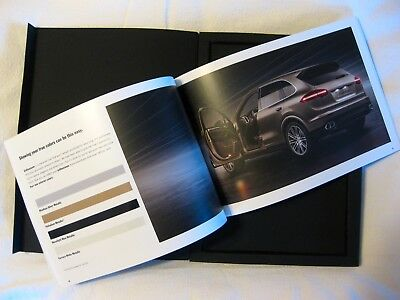 2014 The new Cayenne enthusiast Brochure Book