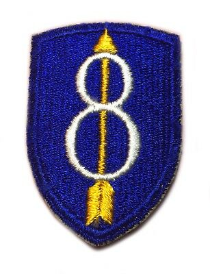 Vintage 8th Infantry Division US Army Military Patch