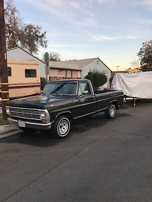 1969 Ford F-100  1969 FORD F-100 SINGLE CAB LONG BED 360 V8 4 ON THE FLOOR