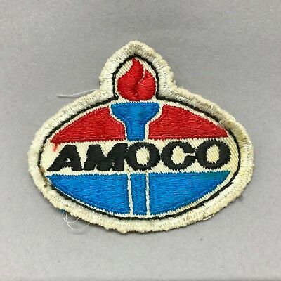 Vintage Amoco Torch Patch For Shirt Or Jacket Gasoline Collectible