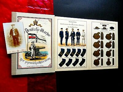 German Kaiser Uniforms Imperial Deutsche Fleet Marine Colonial Navy War Flags
