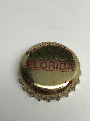 Sierra Nevada - Chico, California - Gold Florida Beer Bottle Cap