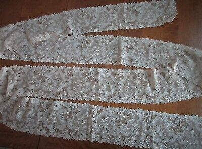 """Antique Lace,ABSOLUTELY STUNNING DELICATE LACE,*almost 3 1/2 YARDS X apx 5"""" wide"""