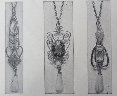1920s Krauth & Reed Jewelry Catalog Chicago Beaded Bags Rings Knives Lighters