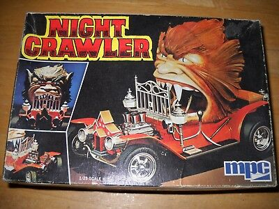 Very Rare 1/25  Mpc Night Crawler Kit 1-0651 Complete Unassembled