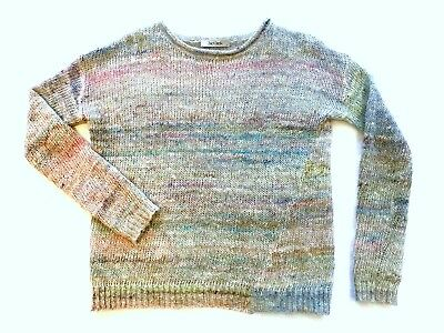 Jac and Jack multicoloured jumper size 8, so soft!