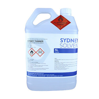 Epoxy Thinner Fast Dry Protective Paint Coatings  5 Litre