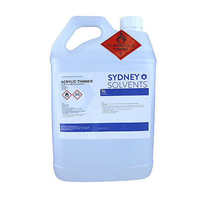 Acrylic Thinner Paint Cleaner 5 Litre