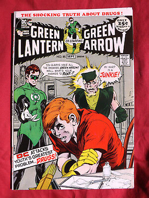 Green Lantern #85 (Aug-Sep 1971, DC) Drugs issue