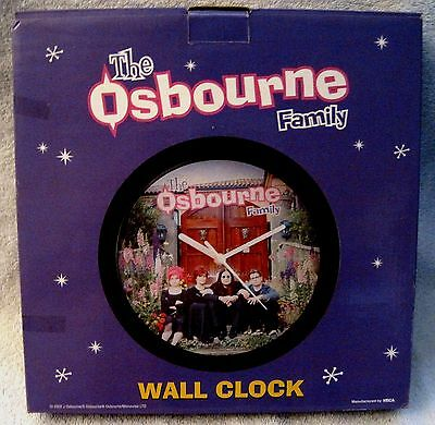 Ozzy Osbourne - The Osbourne Family - Television Show - Wall Clock - Awesome!