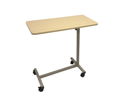 Hospital Overbed Table overbed table on wheels non tilting Free Delivery NEW