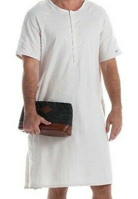 Men's Designer Hospital Gown  100% Cotton.  Full rear coverage. 5 sizes