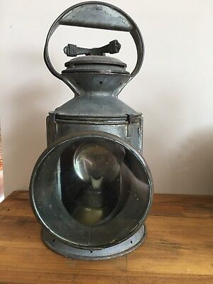 ANTIQUE ORIGINAL old Railway lanterns  LAMP
