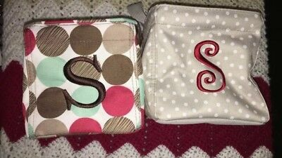thirty one Lot Of 3 Two small caddy Totes one small carry all tote