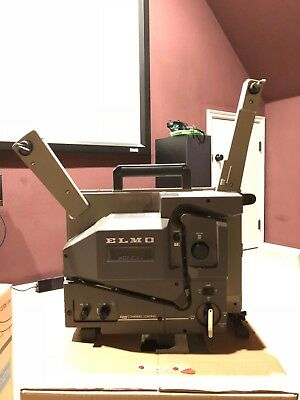 Elmo CX-550 16mm Film Projector, excellent working condition! Great buy!