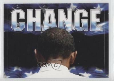 2008 Topps President Obama Collector Trading Cards Stickers #3 Change Barack 0m1