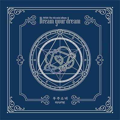 WJSN COSMIC GIRLS - Dream your dream [Blue ver.] CD+Poster+Gift+Tracking no.