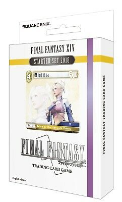 Final Fantasy TCG: Opus 5 Final Fantasy XIV Starter Set 2018 - **PRE ORDER**