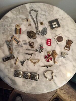 Very Nice Mixed Lot Of Jewelry Junk Drawer Items From Estate Sales A