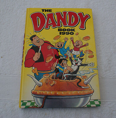 Almost as new. THE DANDY BOOK 1990. Excellant Grade.