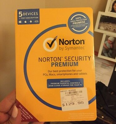 Norton security premium UNOPENED, $30
