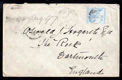 Cape of Good Hope 1897 Postal History Cover COGH WS7707