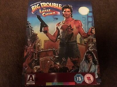 Big Trouble In Little China LIMITED EDITION Bluray STEELBOOK Rare/OOP Mint Cond