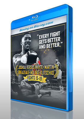 Anthony Joshua: Fights 15 to 19 on Blu-ray