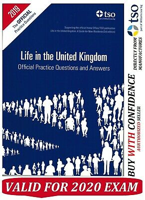 Life in the UK United Kingdom Official Practice Questions and Answers 2018-QA
