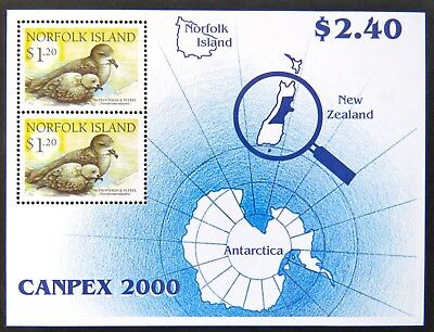 2000 Norfolk Island Stamps - Canpex 2000 - Mini Sheet MNH