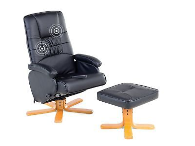 Office chair desk chair executive PU leather massage footstool