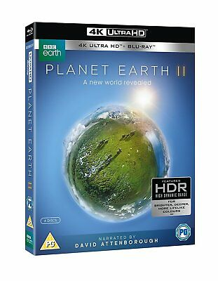 Planet Earth II [4k UHD + Blu-ray] *NEU* Planet Erde 2 David Attenborough Ultra