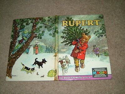 RUPERT ANNUAL 1965 [original] with magic painting pages untouched.
