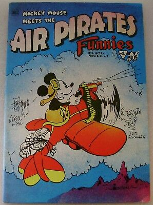 Air Pirates Funnies, # 1, 1st. print, signed by Dan O'Neill , Underground Comix