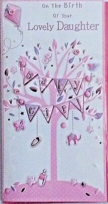 New baby girl congratulations greeting card on the birth of your new baby girl congratulations greeting card on the birth of your lovely daughter m4hsunfo