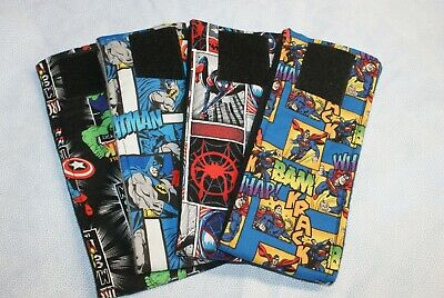 3 Dog Belly Bands, SUPERHERO PACK!  Male Dog Diaper, Clothes,Housebreaking