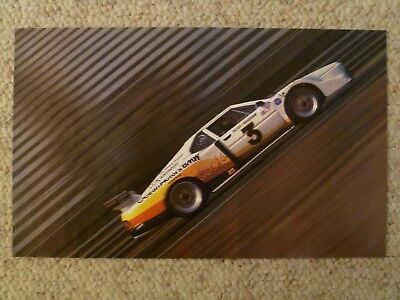 1981 BMW M1 Coupe Race Car Picture / Poster / Print RARE!! Awesome L@@K