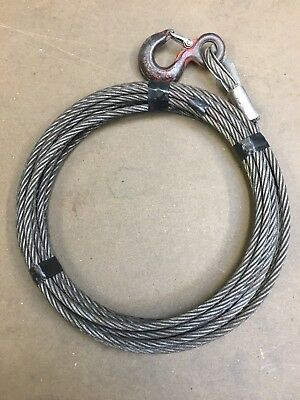 Tirfor Winch Cable 14m Long 11.5mm For Tu16 T516