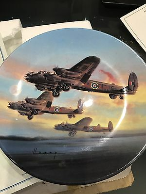 Royal Worcester Collector's Plate - The Take Off