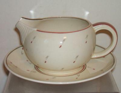 SUSIE COOPER 1930's ART DECO JUG AND PLATE