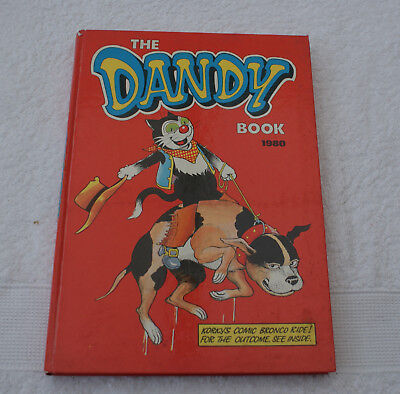 The Dandy Book. 1980. Excellent Condition
