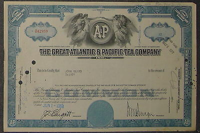 Great Atlantic & Pacific Tea Company 1999 30 Shares