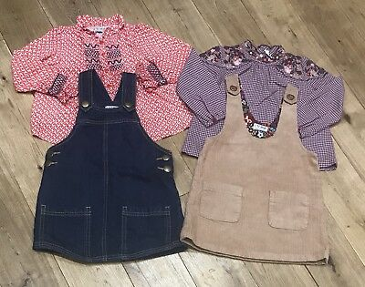 Girls Next Blouse & Dress Out-Fits Bundle Age 2-3 Years