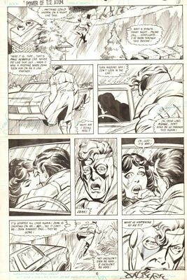 Power of the Atom #6 p.6 - Caught Cheating - 1988 Signed art by John Byrne