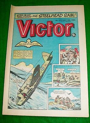 Raf 42 Squadron Beaufort Bomber In Ww2 Cover Story Victor Comic 1980